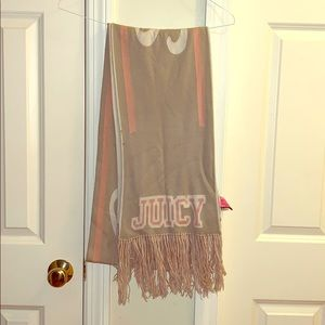Women's authentic Juicy Couture scarf